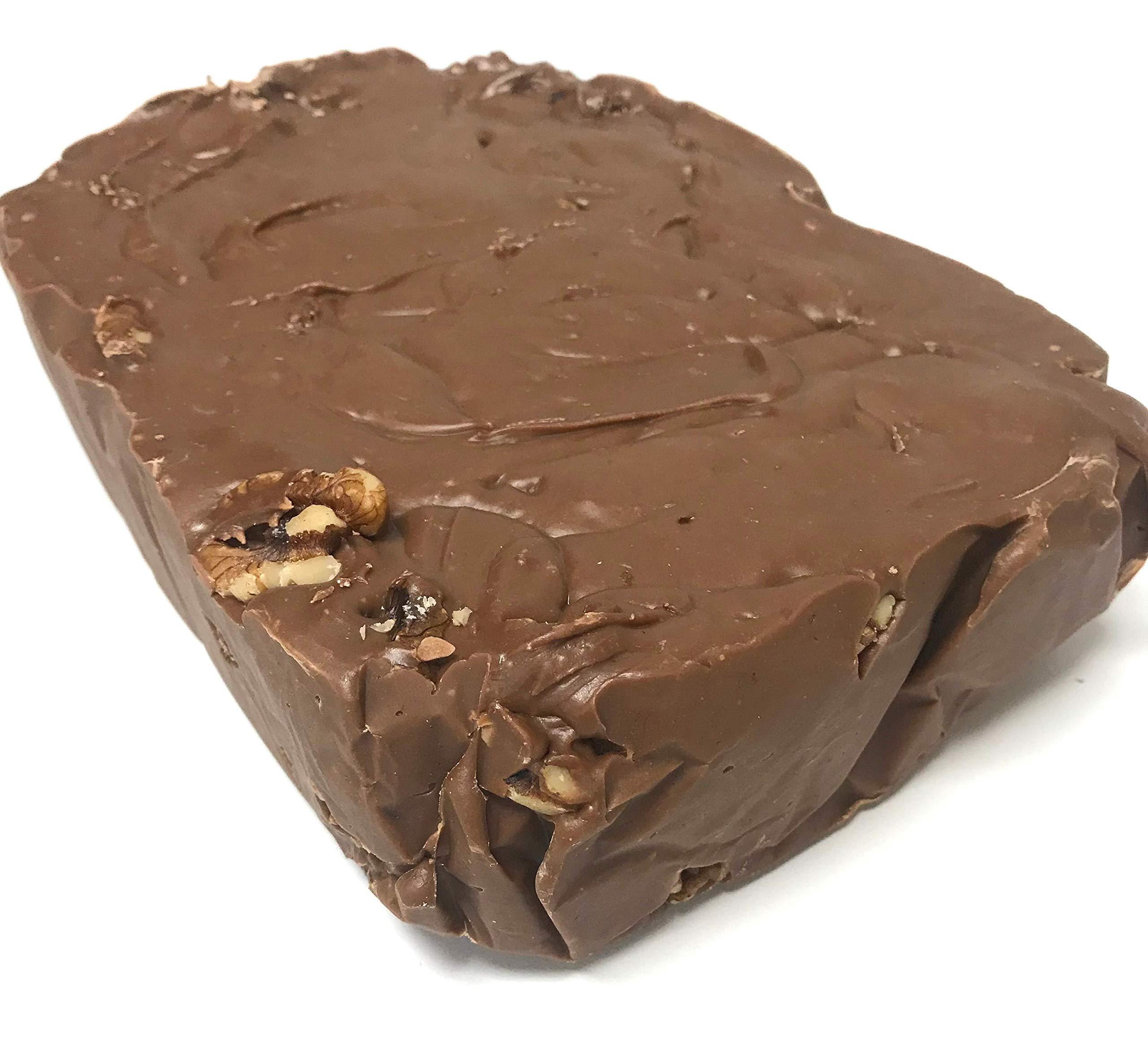 Handmade Fudge 5 Lb. Loaf Chocolate Walnut