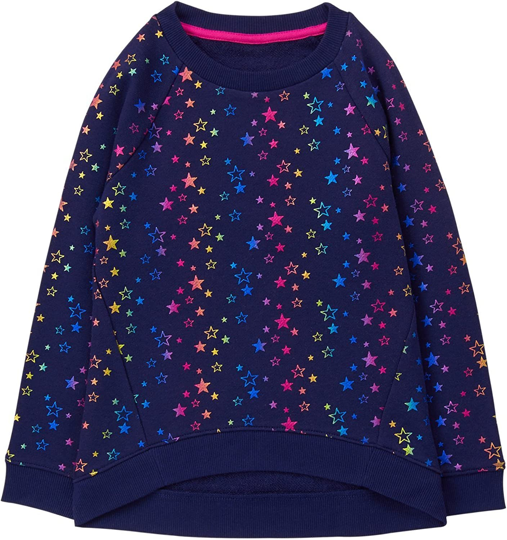 Gymboree Girls Little Rainbow Star Print Popover