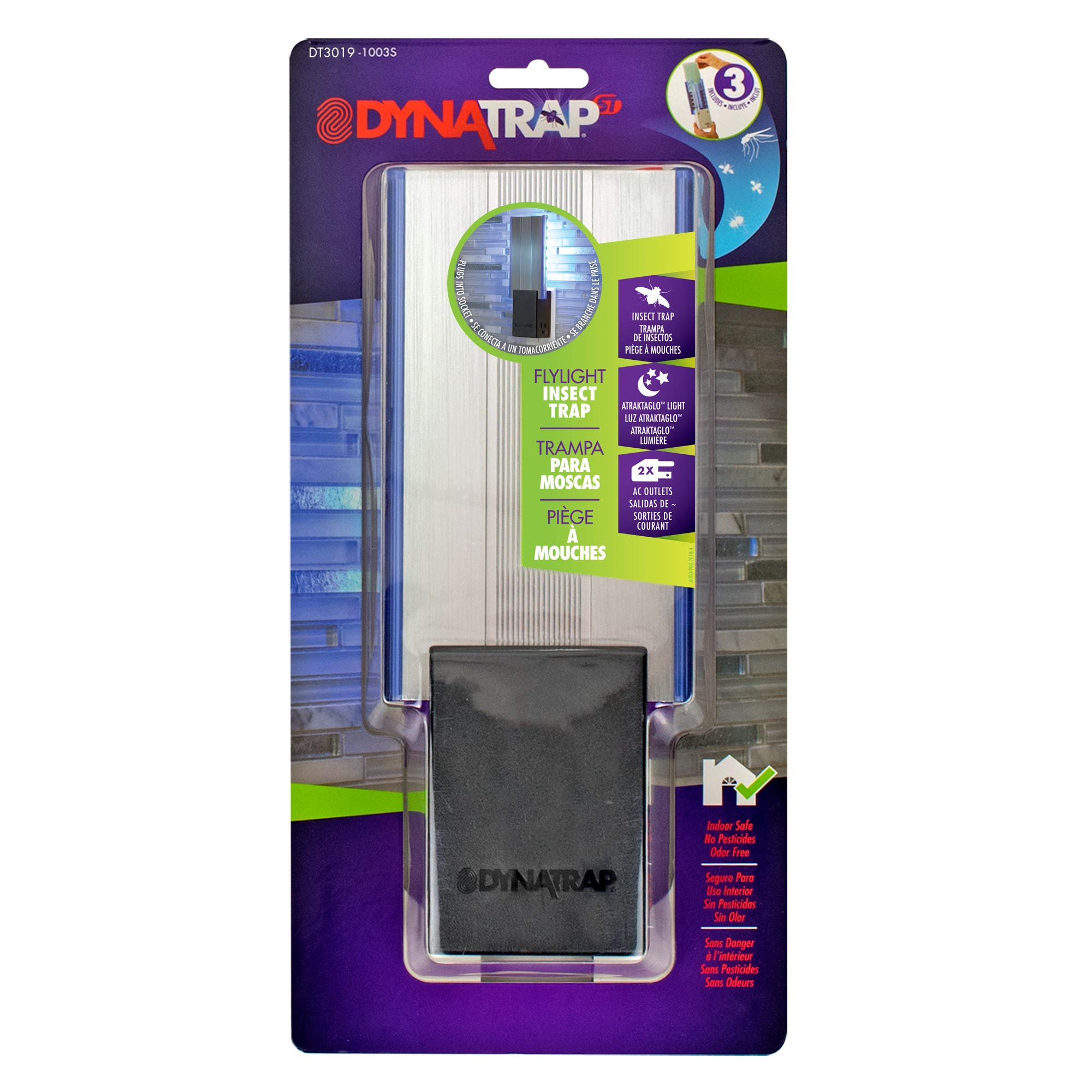 DT3019 - Flylight Insect Trap w/AC Outlets