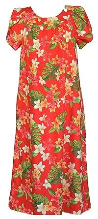 a73d1e9f77c7 RJC Women's Colorful Plumeria Muumuu Dress at Amazon Women's ...