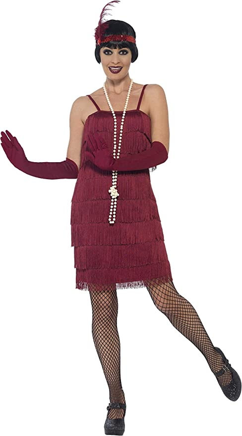 Roaring 20s Costumes- Flapper Costumes, Gangster Costumes Smiffys Flapper Costume $28.14 AT vintagedancer.com
