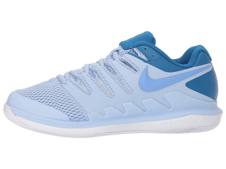 NIKE Women's Air Zoom Vapor X HC Tennis Shoes B007RPLFDM 5.5 B(M) US|Royal Tint/Royal Pulse-white