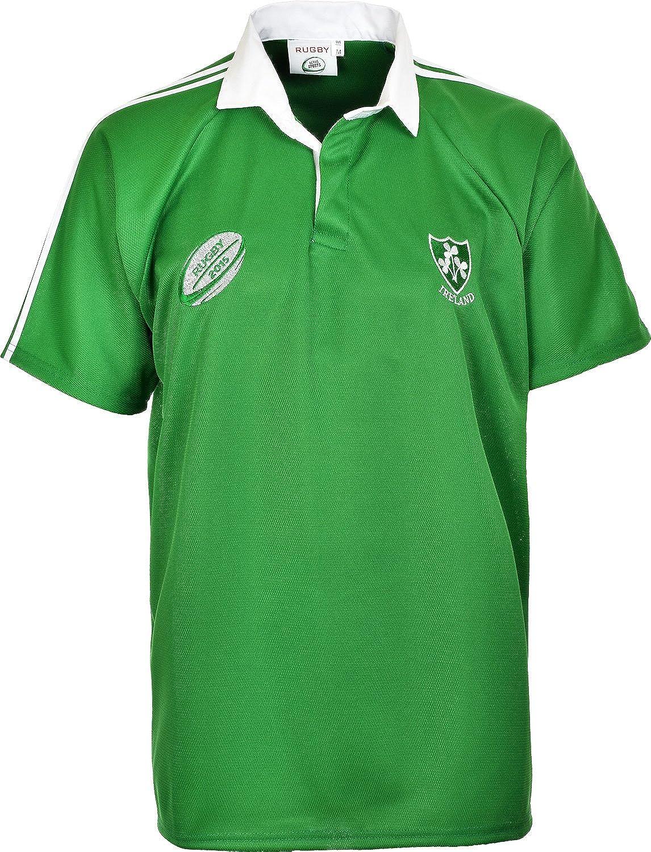 Ireland Irish Rugby World Cup Retro Classic Fan Shirts Gr. S bis 2X L Grün - 2XL FLIWCS01
