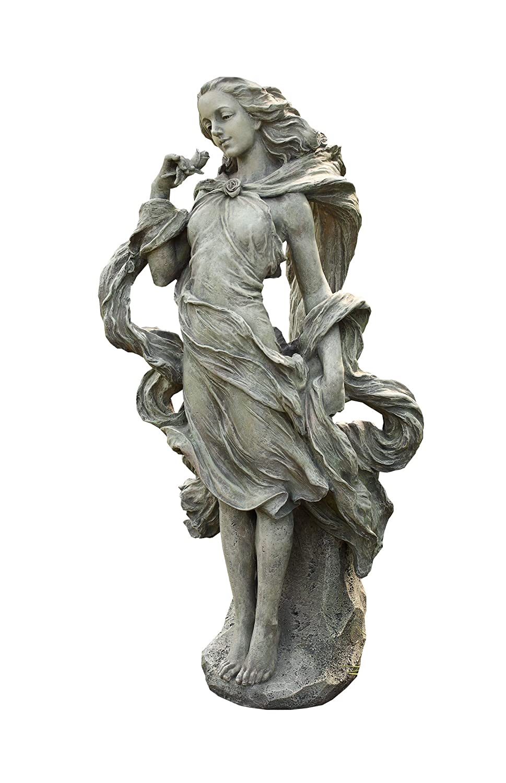Amazon.com : Napco Girl In The Wind Garden Statue, 36 Inch Tall : Outdoor  Statues : Patio, Lawn U0026 Garden