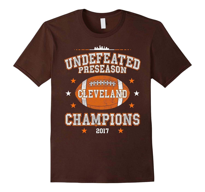 Undefeated Preseason Champions 2017 Cleveland T-Shirt-FL