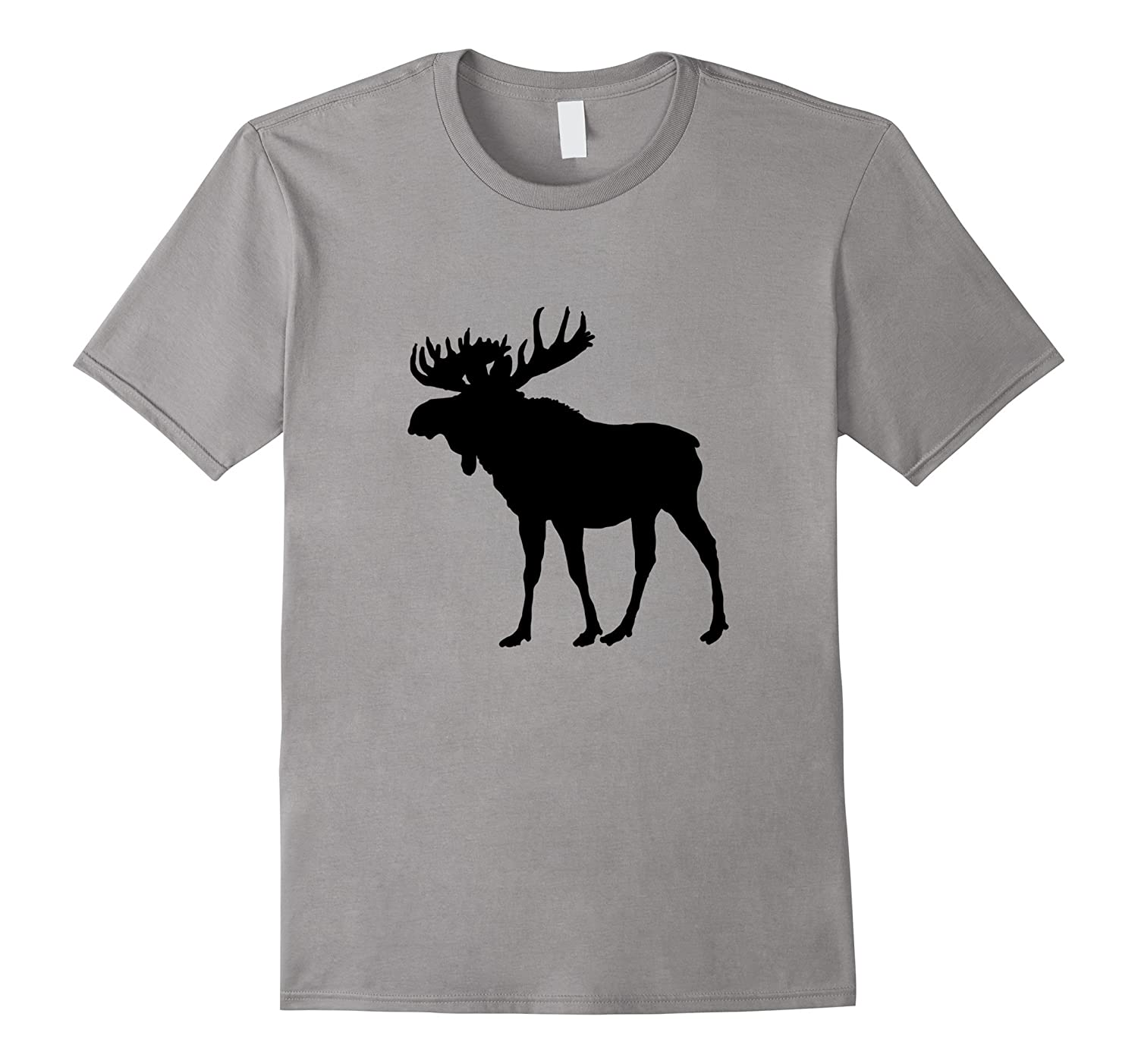 Lovely Christmas and Holiday Moose Silhouette T Shirts-TH