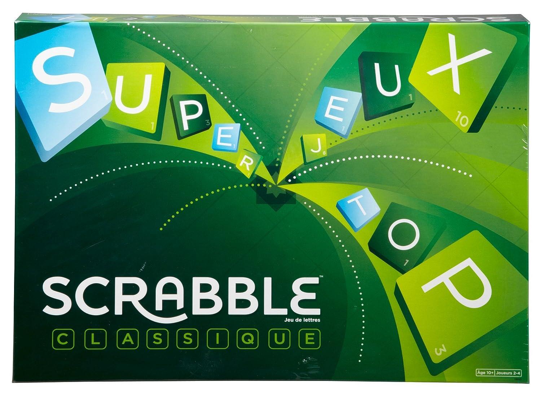 Scrabble : 10 ans et +, 2 à 4 joueurs
