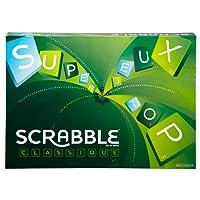 Mattel Games Scrabble Classique, jeu de société et de lettres, version française, Y9593
