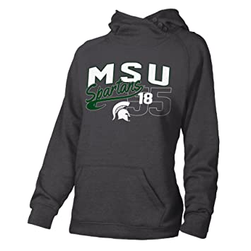 Ouray Sportswear NCAA Michigan State Spartans Womens Guide Vest Medium Charcoal Heather