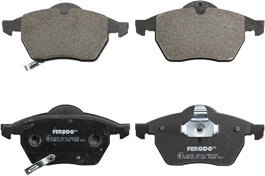Ferodo FDB1535 Brake Pad Set set of 4 disc brake