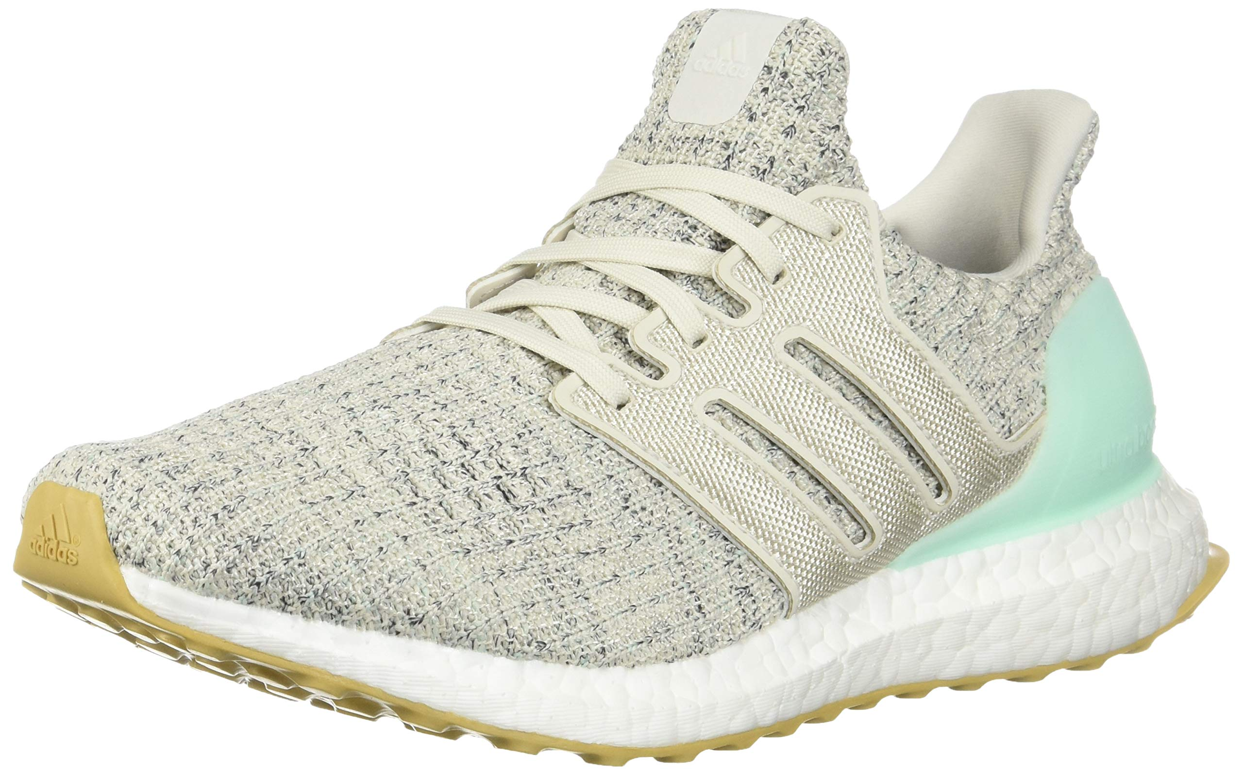 adidas Women's Ultraboost, Clear Mint/raw White/Carbon, 5 M US