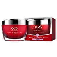 Olay Regenerist 3 Point Firming Anti-Ageing Night Cream Moisturiser, Firms Skin and Reduces the Look of Wrinkles, 50 ml
