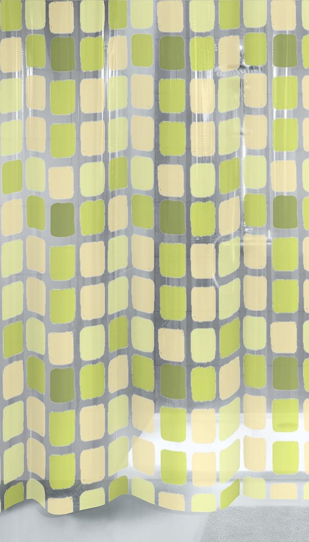 Multicolore Mehrfarbig Tenda da Doccia 180 cm x 200 cm Kleine Wolke