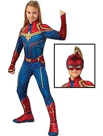 5668395e8 Captain Marvel Hero Costume Suit, Small