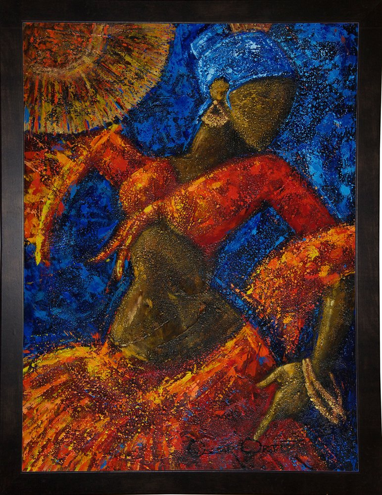 Dancer by Oscar Ortiz in a 28.00