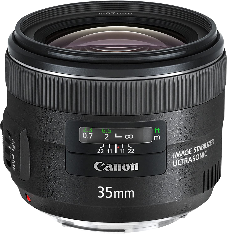 Canon Objektiv Ef 35mm F2 Is Usm Für Eos Schwarz Kamera