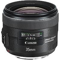 Canon EF 35mm f/2 IS USM - Objetivo para canon (distancia focal fija 35mm, apertura f/2-22, estabilizador, diámetro: 67mm) negro