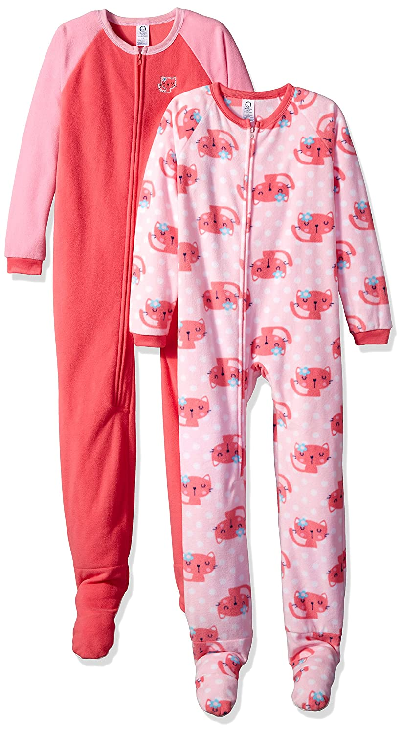 Gerber Girl's Blanket Sleepers (2 Pack) Gerber Children' s Apparel