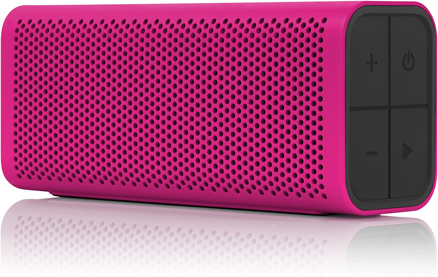 Braven B705MBP Portable Wireless Bluetooth Speaker [12 Hours][Water Resistant] Built-in 1400 mAh Power Bank Charger - Magenta