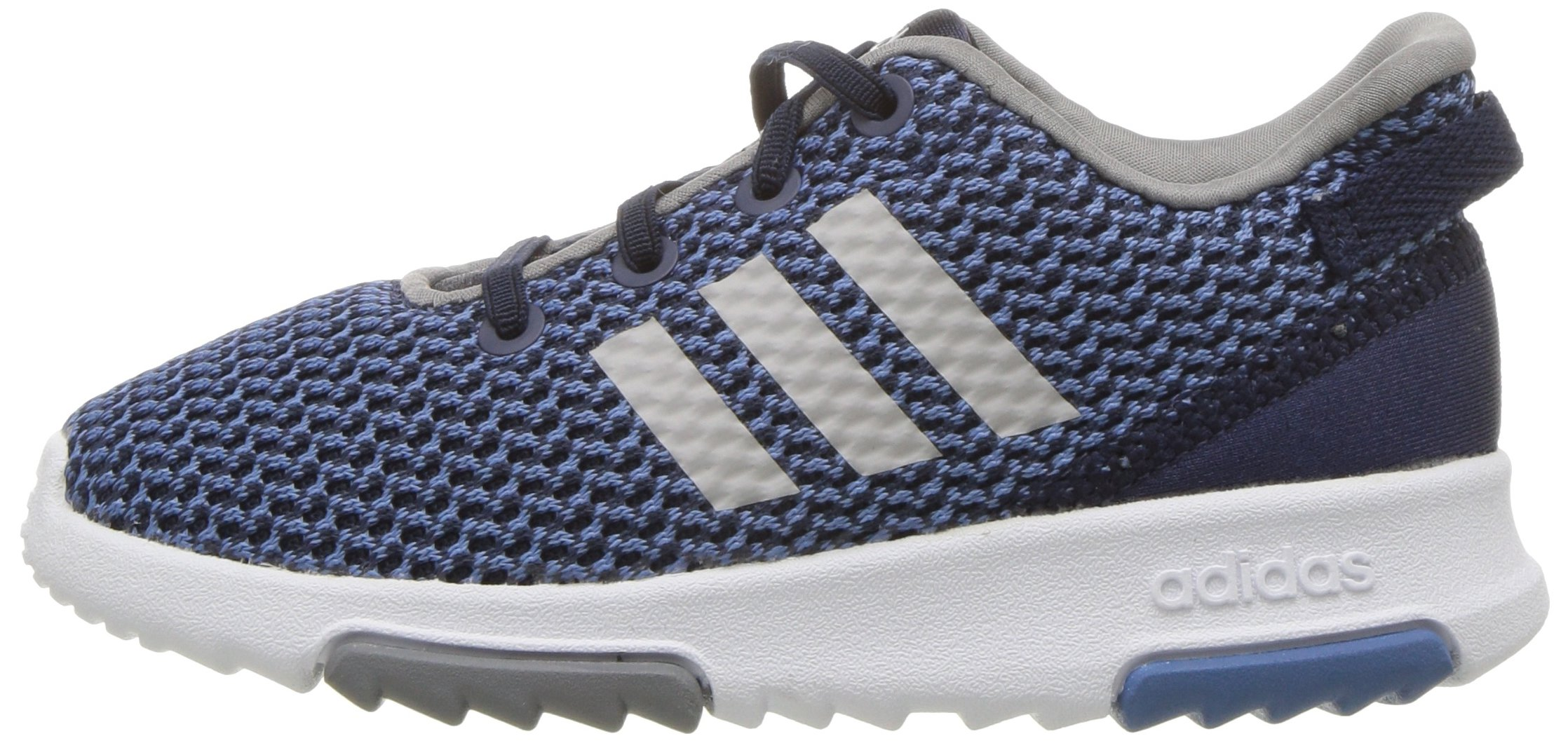adidas Kids CF Racer TR Running Shoe, Collegiate Navy/Collegiate Navy/Grey, 3K M US Toddler by adidas (Image #5)