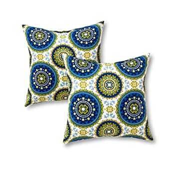 greendale home fashions 17 x 17inch toss pillows set of 2