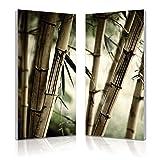 Baxton Studio Bamboo Stalks Mounted Diptych