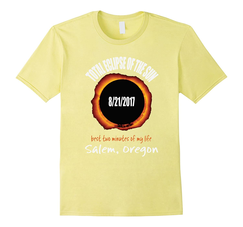 2017 Eclipse Souvenir Salem, Oregon T Shirt