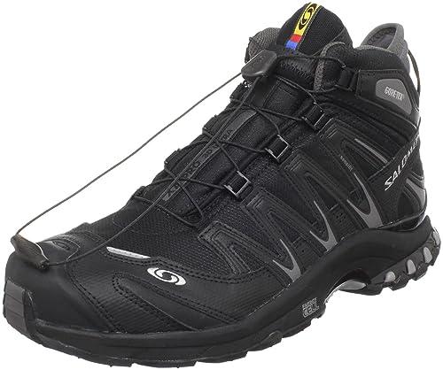 SalomonXa Pro 3d Mid Gtx Ultra - Zapatillas de running hombre, color Negro, talla