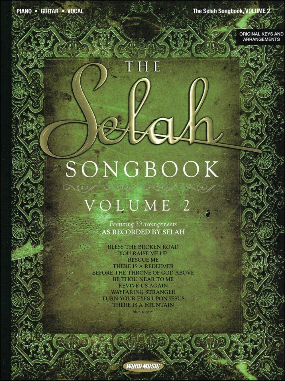 Amazon Word Music Selah Songbook Volume 2 Arranged For Piano