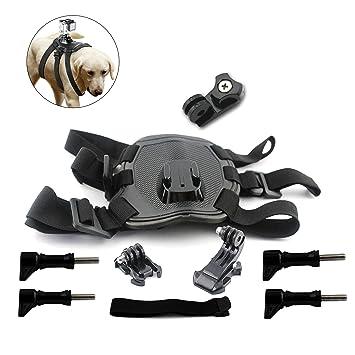 savonga arnés del perro perro correa de pecho para GoPro Hero 4 3 ...