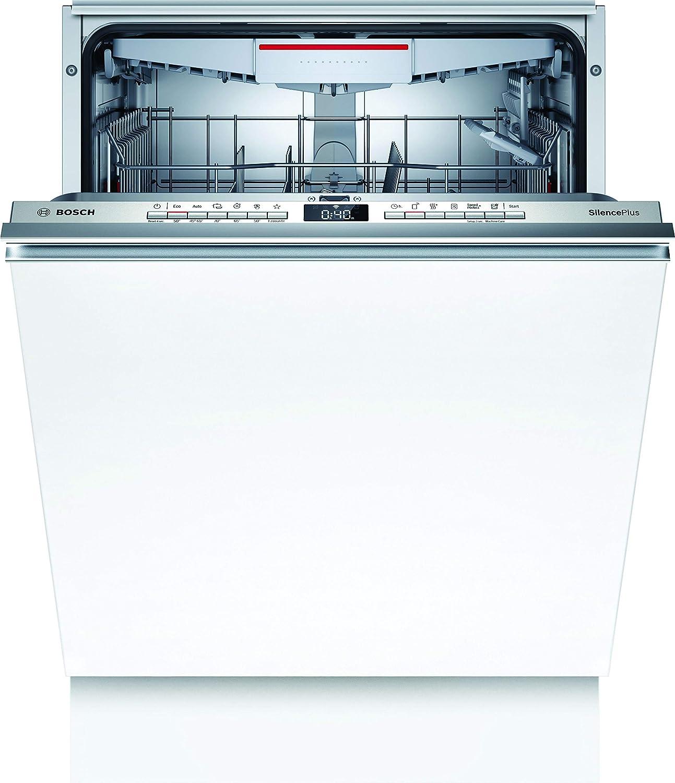 Bosch SBV4HCX48E Serie 4 XXL - Lavavajillas totalmente integrado, A++, 60 cm, 92,5 cm de altura de nicho / 266 kWh/año / 14 MGD/SuperSilence/InfoLight/Secado extra, cajón/Home Connect
