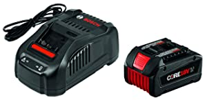 Bosch 18V Starter Kit with CORE18V Battery and Charger GXS18V-01N14
