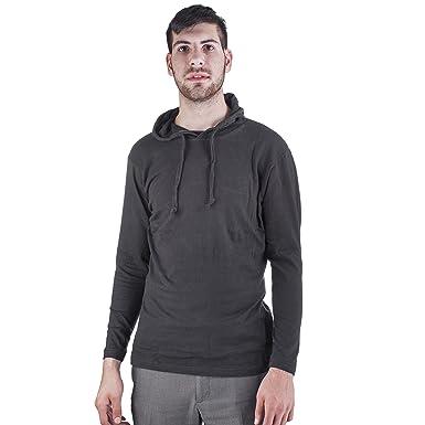 Mens Long Black Hoodie Fashion Ql