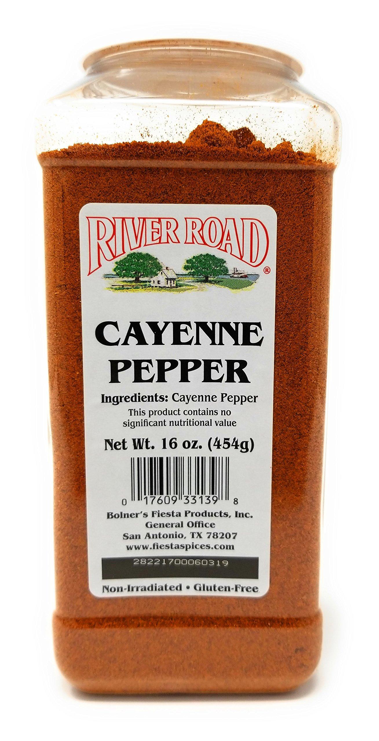 Bolner's Fiesta River Road Pure Cayenne Pepper Large 16oz Shaker