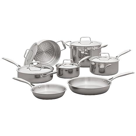 Amazon.com: Stone & Beam Juego de 12 utensilios de cocina de ...
