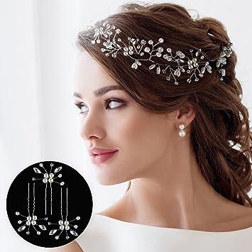 5d892e0d314ca HANDMADE HAIR ACCESSORIES FOR WEDDING + 3 BONUS FLOWER WEDDING HAIR PINS -  WEDDING HAIR ACCESSORIES