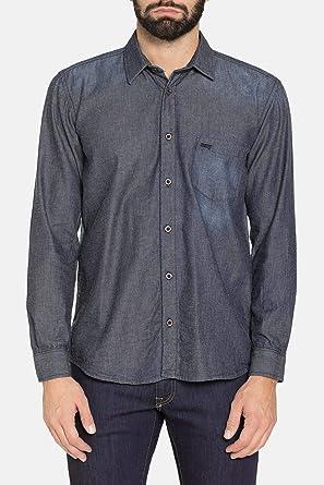 Carrera Jeans - Camisa Jeans para Hombre ES XXL: Amazon.es: Ropa y accesorios