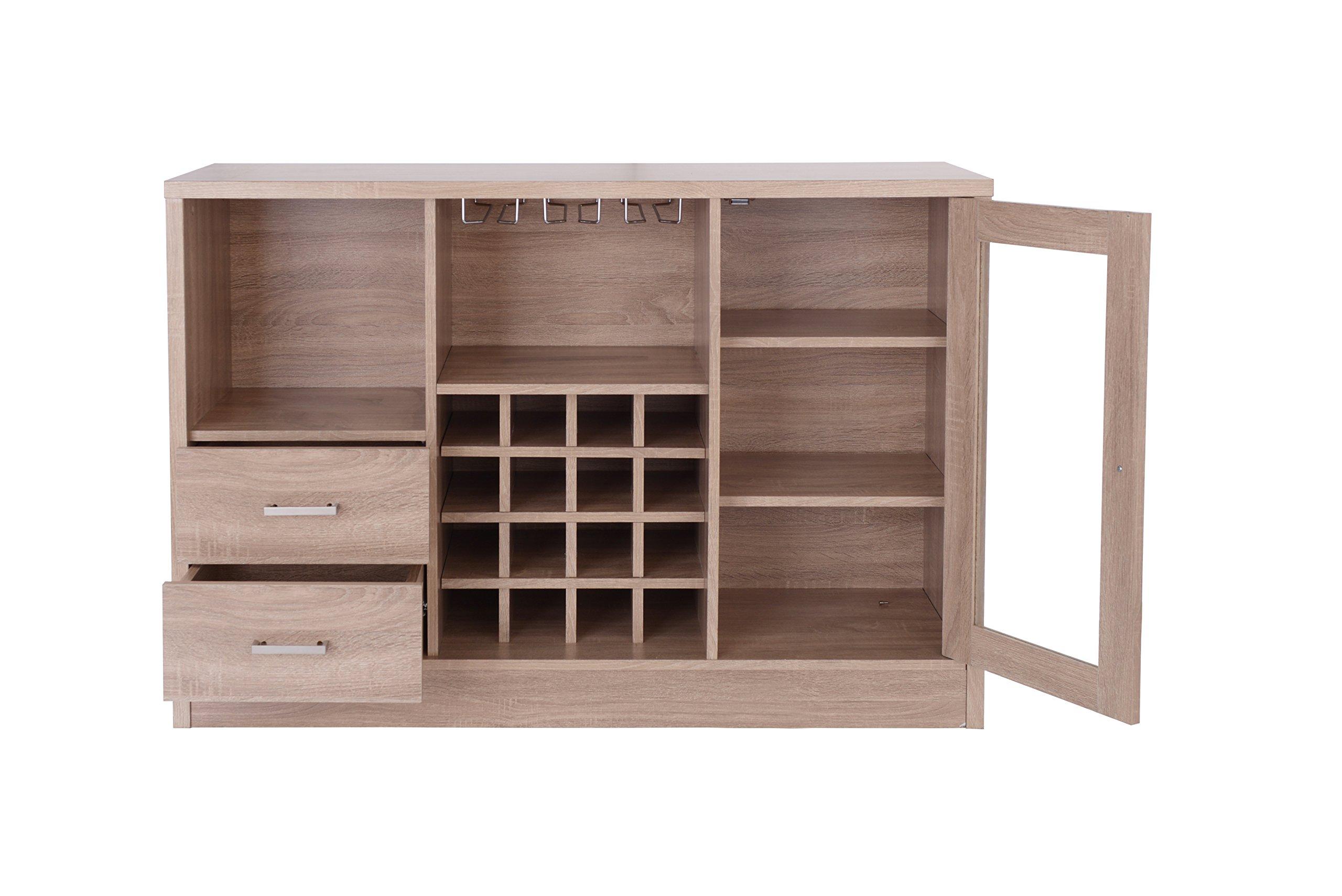 Acme Furniture 72635 Joice Rustic Oak Server by Acme Furniture (Image #3)