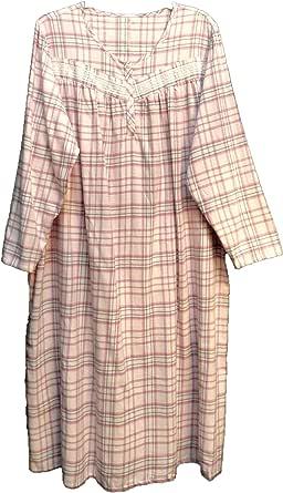 Croft Barrow 100/%Cotton Nightgown White Swiss Dot Long Sleeveless 4X 3X 2X 1X XL