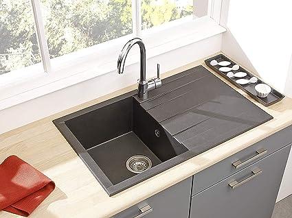 Respekta Lavandino Lavello Incasso Cucina Granito Lavello Cucina ...