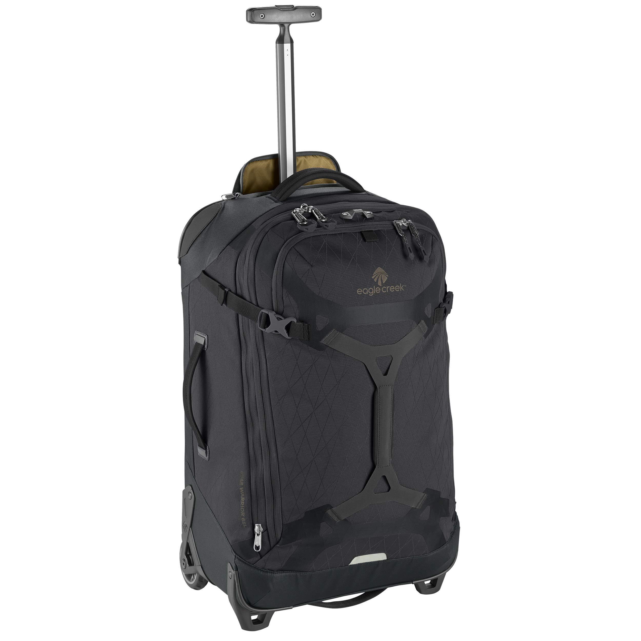 Eagle Creek Gear Warrior 2-Wheel Rolling Duffel Bag, 26-Inch, Jet Black