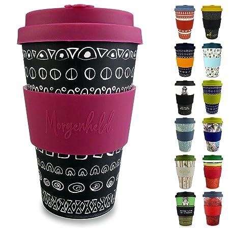 Morgenheld Vaso de bambu moderno | vaso para llevar | vaso para ...