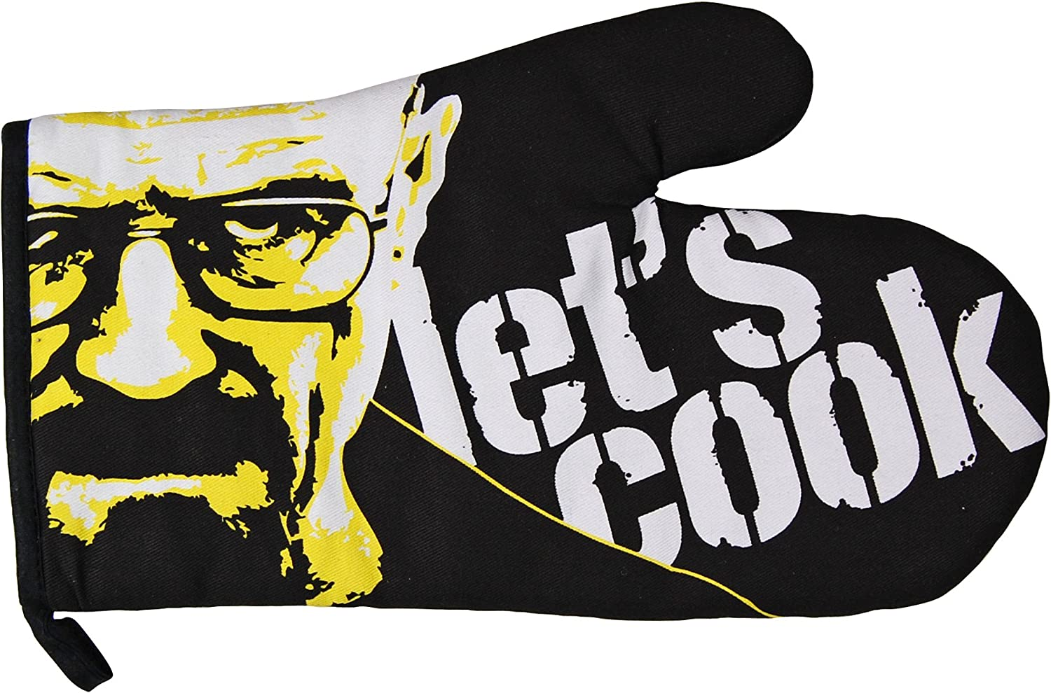 Breaking Bad Let's Cook Oven Glove. Cool Funky Novelty Kitchen and Cooking Tool
