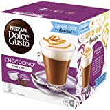 NESCAFÉ DOLCE GUSTO Chococino Caramel, 16 Capsules (Pack of 3 - Total 48 Capsules, 24 Servings)