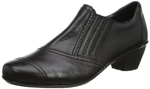 Rieker Women's 41700-00 Closed-Toe Pumps, Black (00), 3.5