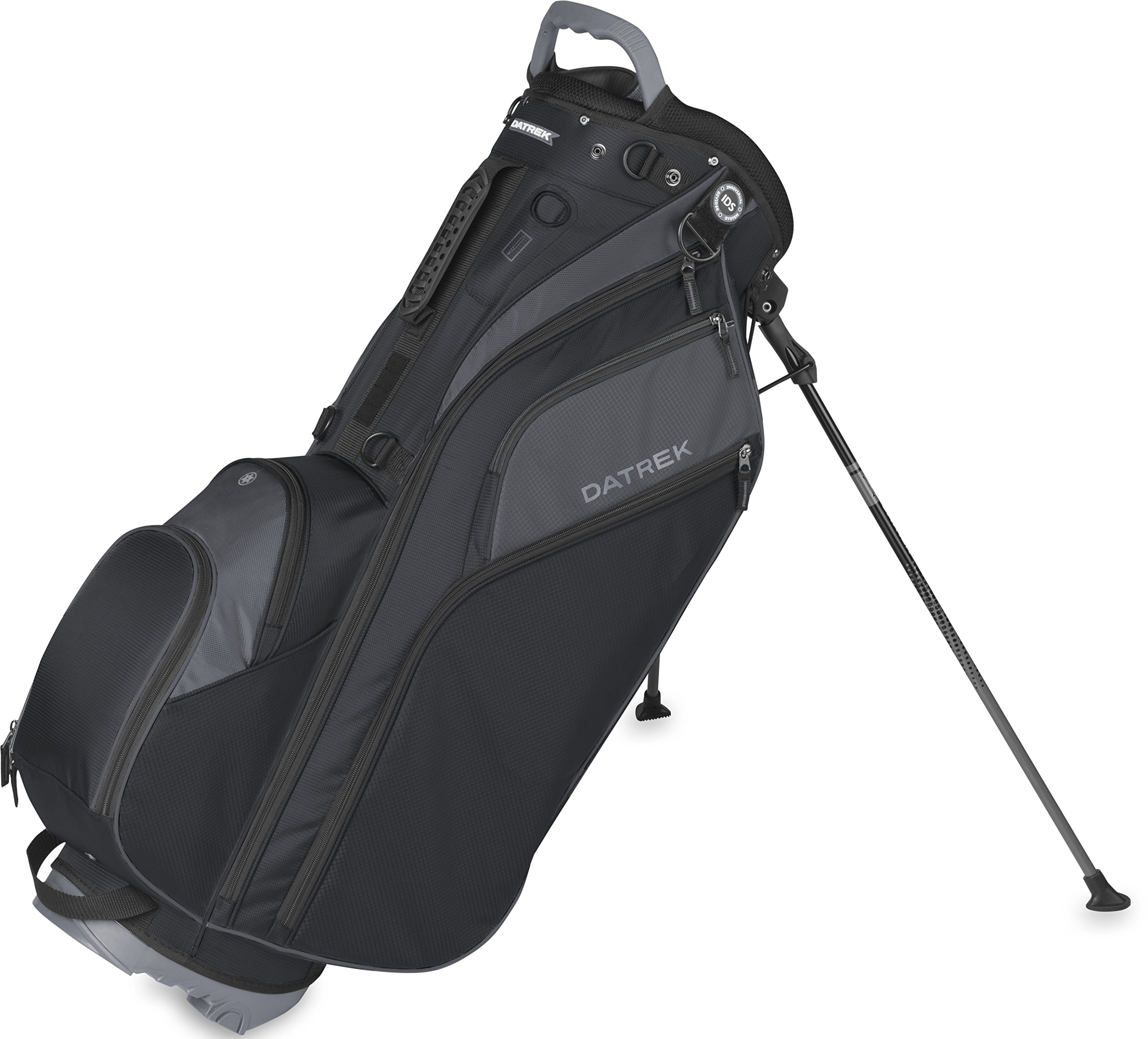 Datrek Golf Go Lite Hybrid Stand Bag (Black/Slate) by Datrek