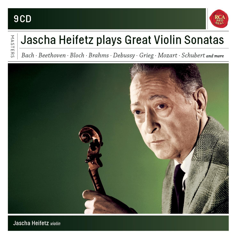 Jascha Heifetz Plays Sonatas For Vio Lin by Sony Masterworks