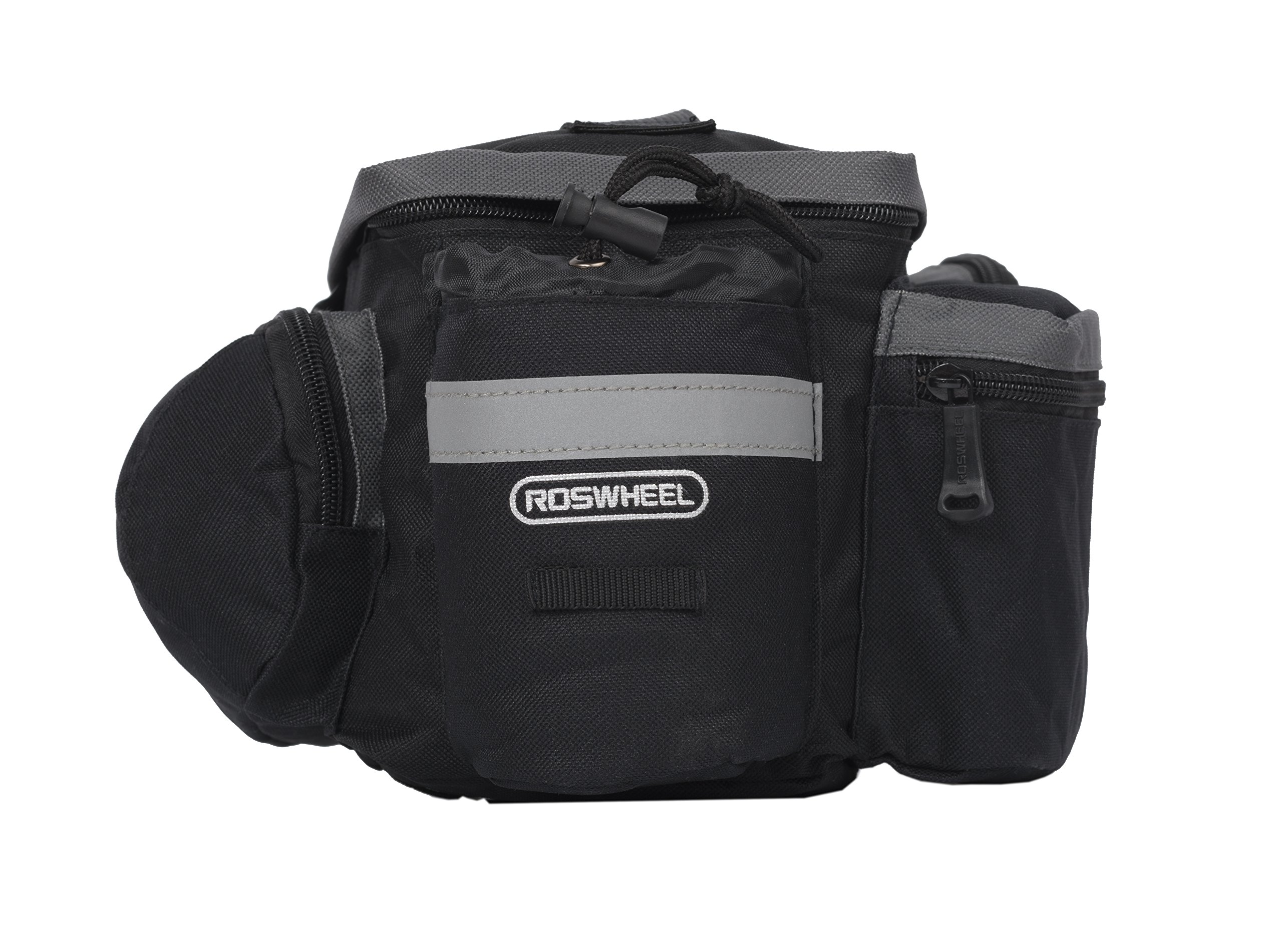 Roswheel 14024 Convertible Bike Bicycle Rear Rack Seat Pannier Trunk Bag with Cup Holder by Roswheel (Image #3)