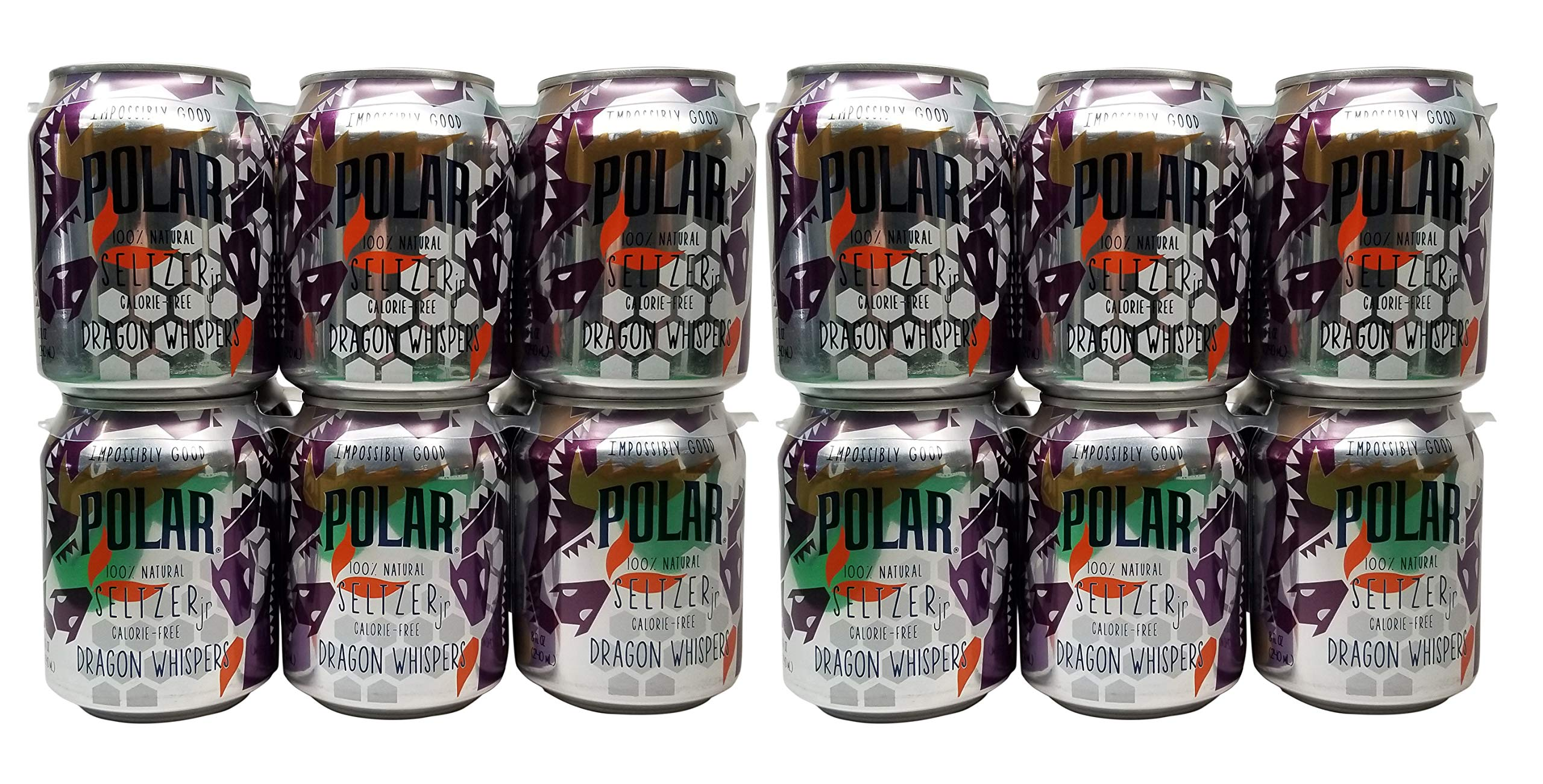 Polar Seltzer Impossibly Good Dragon Whispers 24 pk 8 oz. Cans by Generic