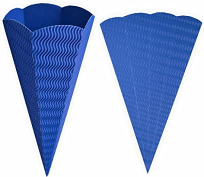 Spielzeug 68cm Schult/üten-Rohling 3D-Welle rot